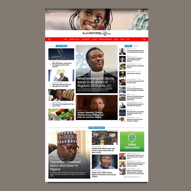 Slam Reports Africa
